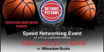 VIP Speed Networking Event at Little Caesars Arena