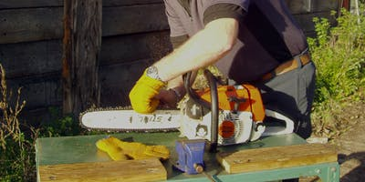 Chainsaw maintenance and cross cutting