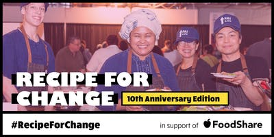 Recipe for Change: 10th Anniversary Edition