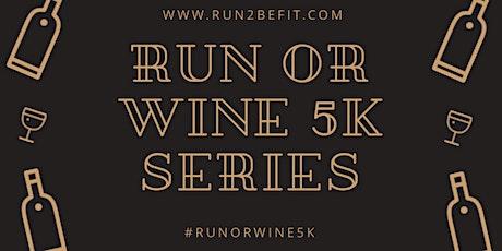 Run or Wine 5k, December 2019 tickets