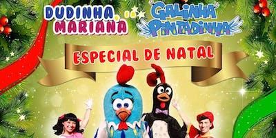 DESCONTO! Dudinha, Mariana e a Galinha Pintadinha Especial de Natal no Teatro Bibi Ferreira