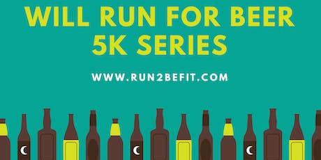 Will Run for Beer 5k, October 2019 tickets