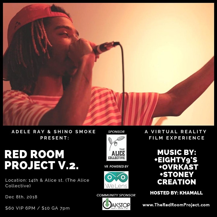 Red Room Lounge  Virtual Reality Pop-Up & Musical Event image