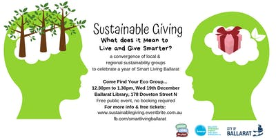 Sustainable Giving: What Does It Mean To Live & Give Smarter Smart Living Ballarat BREAZE