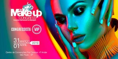 VIP - The Make-up Congress - Congresso Internacional de Maquiagem - São Paulo-SP
