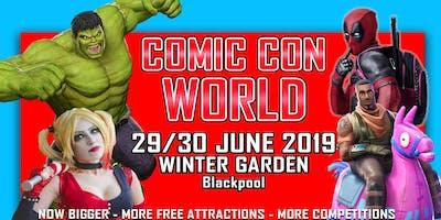 Comic *** World - Blackpool 2019
