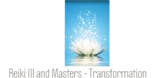 Reiki III and Masters