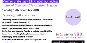 Women at the top masterclass - Progression and self...