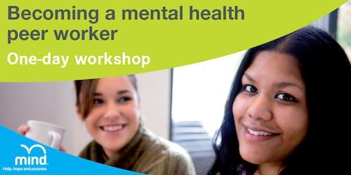 Becoming a mental health peer worker
