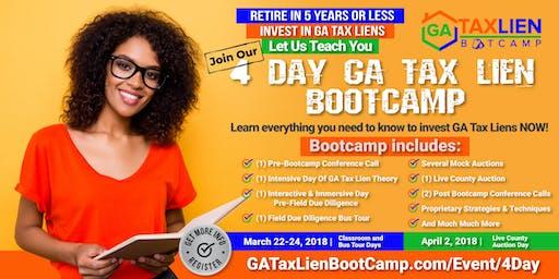4 Day GA Tax Lien Bootcamp