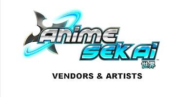 Vendors/Artist @ Anime Sekai  Sept 20-22, 2019