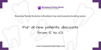 Discount from Broadway Family Dental