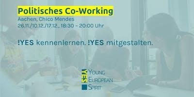 Politisches Co-Working | Young European Spirit