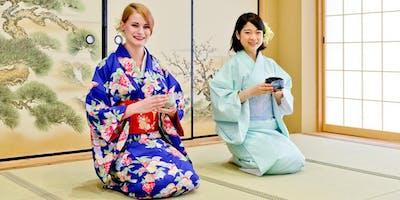 Kyoto Tea Ceremony and Kimono Experience