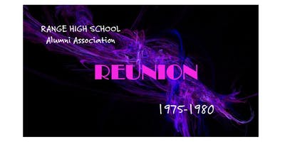 RANGE HIGH SCHOOL Reunion For those who started school between 1975-1980
