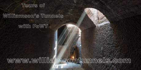 Williamson's Tunnels tour with FoWT - June 2019 tickets