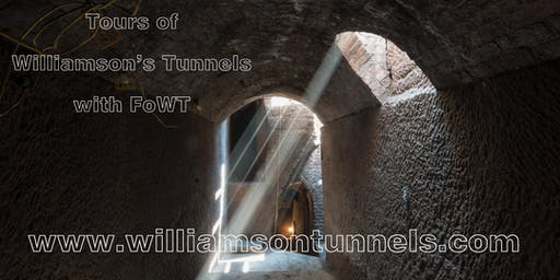 Williamson's Tunnels tour with FoWT - July 2019