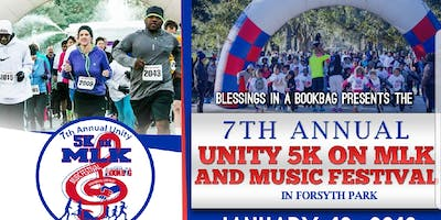 The 7th Annual Unity 5k On MLK & Music Festival In Forsyth Park