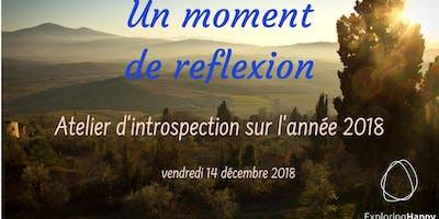 Un moment de reflexion - atelier introspectif sur l\