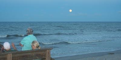 Moonrise at the Beach