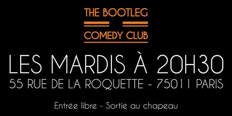 SOIREE DE STAND UP - HUMOUR billets