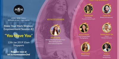 Make Your Mark Women Empowerment Session #2