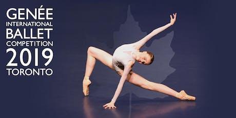 Genée International Ballet Competition 2019 Semi-Finals tickets