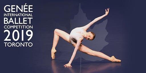 Genée International Ballet Competition 2019 Semi-Finals