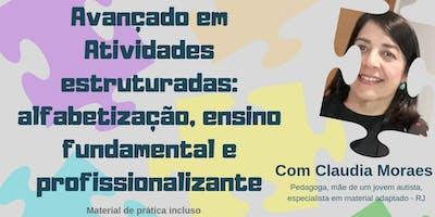 Avançado em atividades estruturadas: alfabetização, ensino, fundamental e profissionalizante