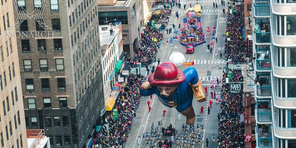 Thanksgiving Parade New York 2019 Thanksgiving Macy's Day Parade Viewing 2019 @ Monarch Rooftop