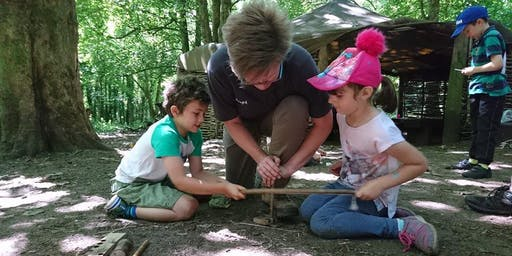 Family Bushcraft Event (1 - 3pm, 7 August 2019, near Cardiff)