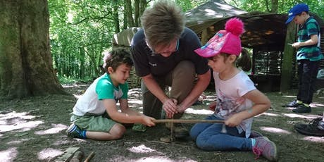 Family Bushcraft Event (1 - 3pm, 21 August 2019, near Cardiff) tickets