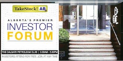 June 5th 2019 - TakeStock Investor Forum - Calgary