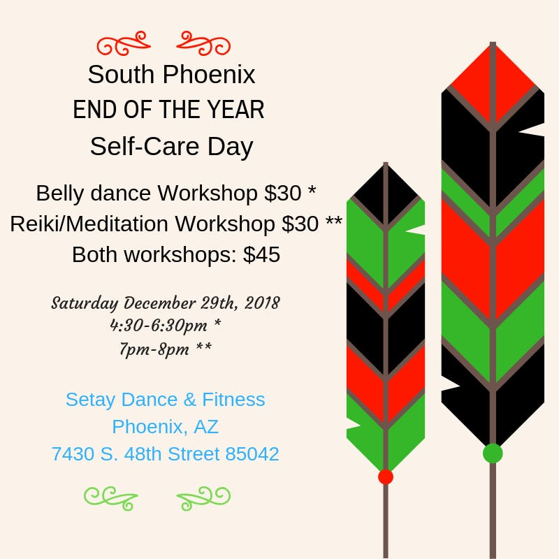South Phx End Of The Year Self-Care Day
