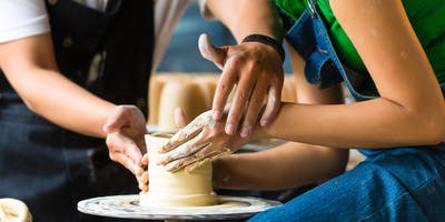 Pottery Wheel Throwing Class: 7 weeks (Thursday Jan 10- Feb 21) 630-9 PM