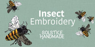 Insect Embroidery