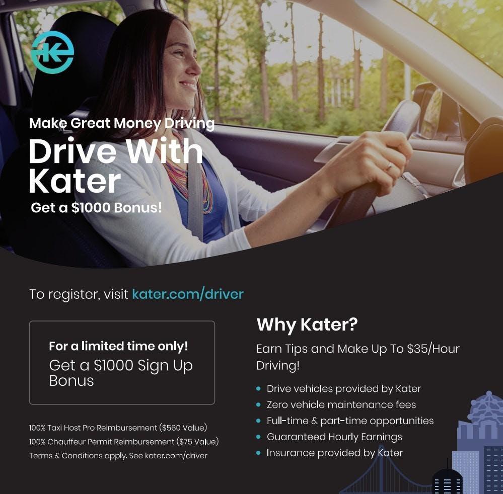 Kater Ride-hail / Driver Info Session