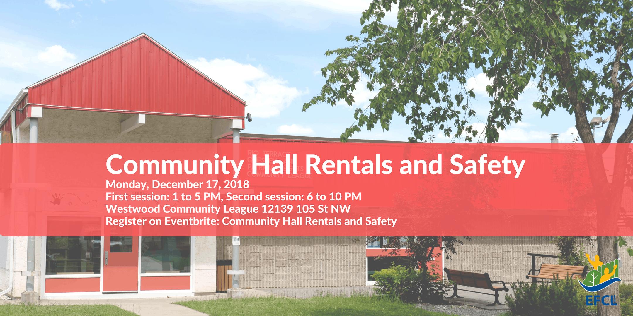 Safe Hall Rentals - Daytime