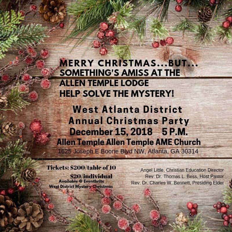 West District Mystery Christmas - 15 DEC 2018