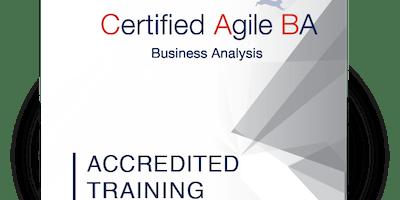 IIBA Endorsed, iSQI® Certified Agile Business Analysis (CABA) Houston