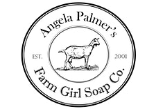 Angela Palmer's Farm Girl Soap Co. logo