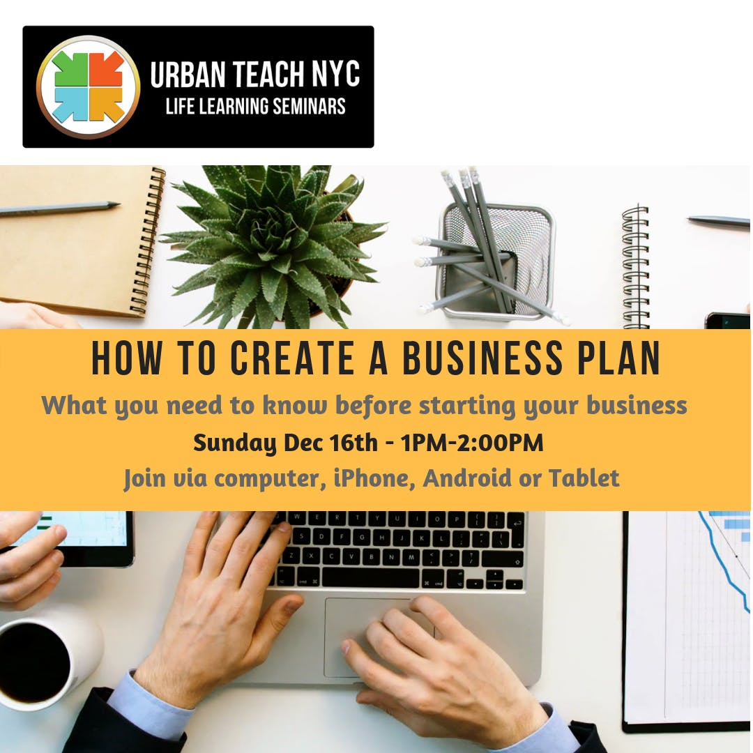 free online class how to create a business plan 16 dec 2018