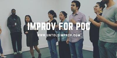 Improv for People of Color (Jan. 17 - Mar. 7)