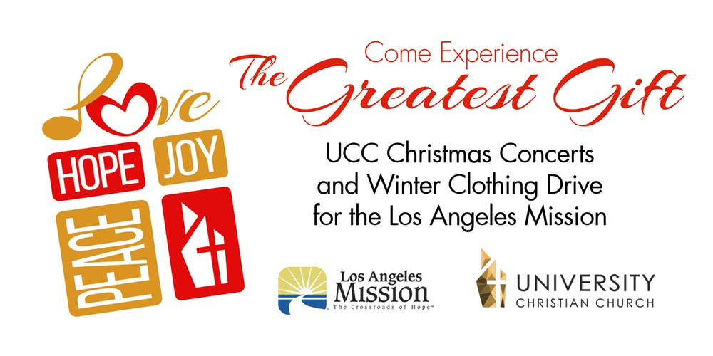 UCC The Greatest Gift Christmas Concert Tickets, Fri, Dec 7, 2018 at ...