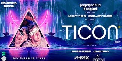 """Psychedelic Babylon: TICON (Iboga Rec) - \""""Winter Solstice\"""""""