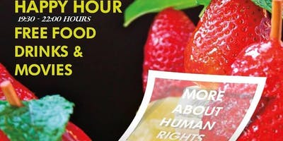 Happy Hour - Free Food and Drinks - Humanitarian E