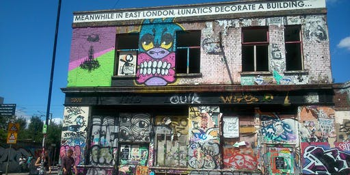 East London. Eclectic Day Out With Miss Guided