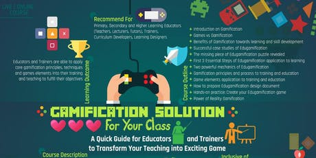 Gamification Solution For Your Class* tickets