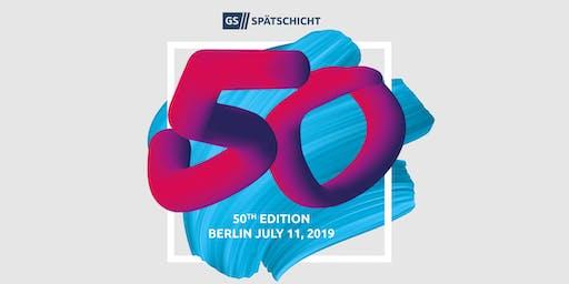 Gründerszene Spätschicht - Birthday Edition - 11.07.2019