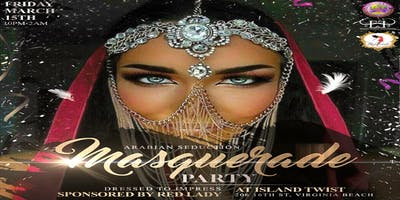 Arabian Seduction Masquerade Party